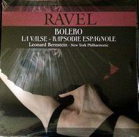 BOLERO, LA VALSE, RAPSODIE ESPAGNOLE  (Leonard Bernstein-N.Y.Philharmonic)