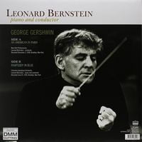 LEONARD BERSTEIN, New York Philharmonic, ColumbiaSymphony Orchestra-piano and conductor:An American in Paris / Rhapsody In Blue (1959) (180g vinyl pressing)