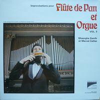 IMPROVISATIONS POUR FLUTE DE PAN et ORGUE VOL.3
