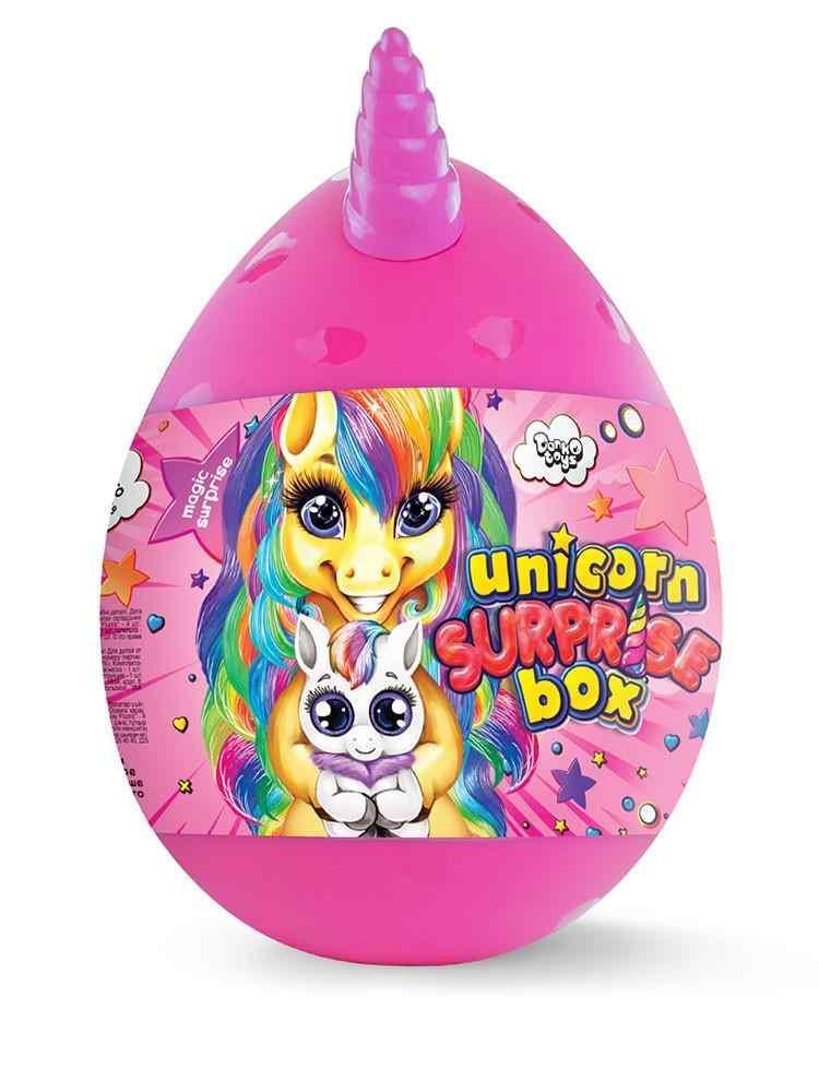 Unicorn Surprise Box Детский игровой набор для творчества Яйцо Единорога Danko Toys