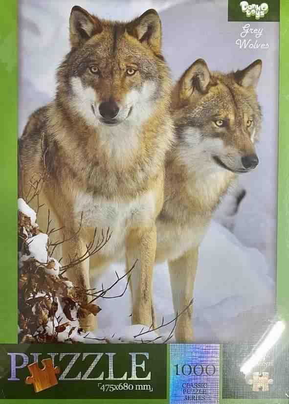 Пазлы 1000 элементов Gery Wolves Danko Toys