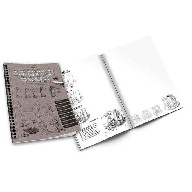Набор креативного творчества SKETCH BOOK Danko Toys