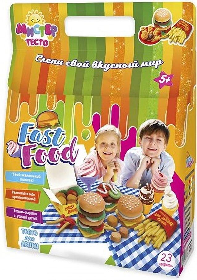 Набор для творчества Мистер тесто.  Fast food