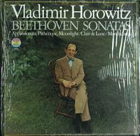 PIANO SONATAS Pathetique, Appassionata, Mondschein, Moonlight, Clair de lune (W.KEMPFF) (1965) (180 gram vinyl pressing) (LP)