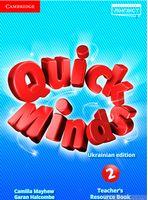 Quick Minds (Ukrainian edition) НУШ 2 Teacher's Resource Book