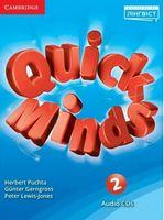 Quick Minds (Ukrainian edition) НУШ 2 Class Audio CDs (4)