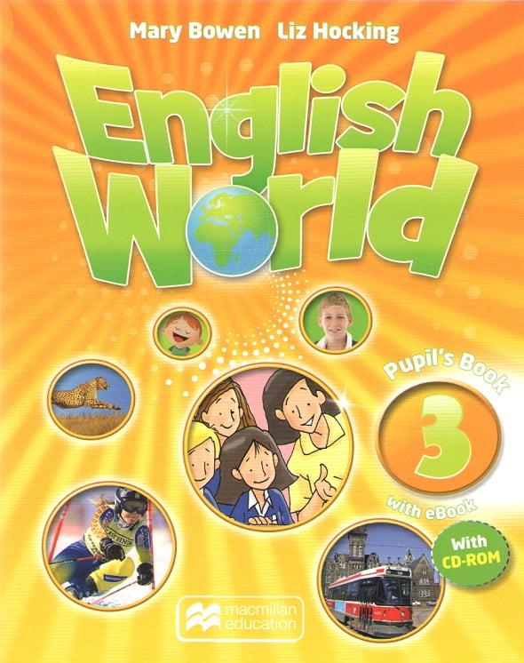 English World 3 Pupil's Book + CD+Ebook