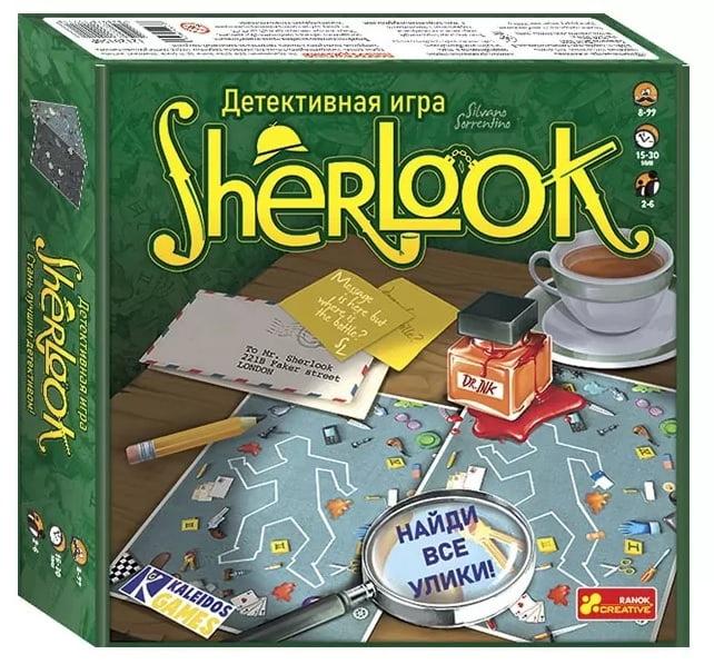 Игра настольная детективная Sherlook
