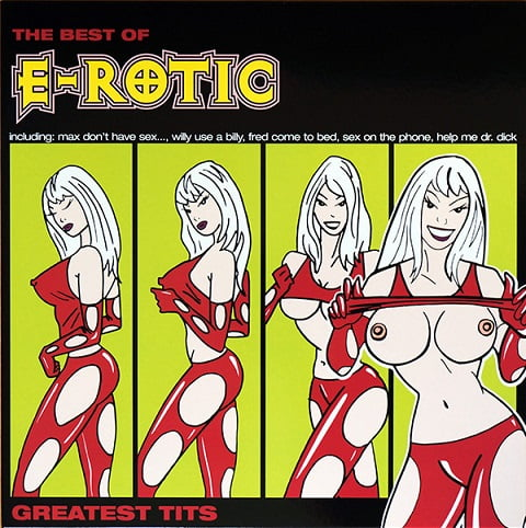 "E-Rotic 'Greatest Hits - The Best Of E-Rotic 1994-2003"" 2020 Black Vinyl 2LP"