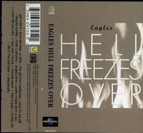 Eagles – Hell Freezes Over (Cassette)