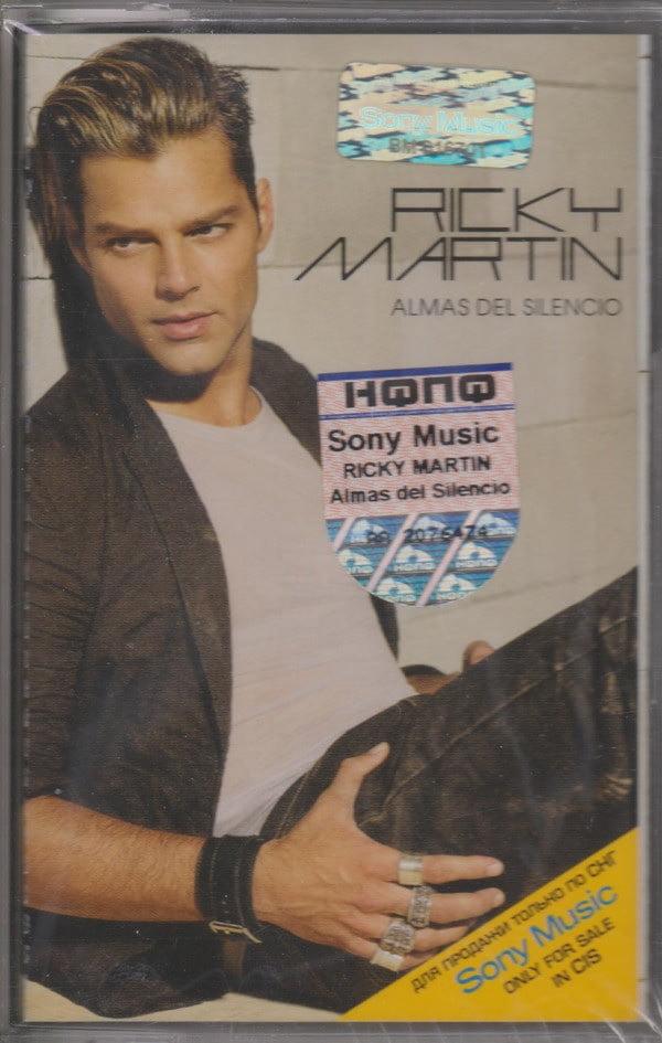 Ricky Martin – Almas Del Silencio (Casette)