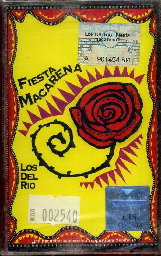 Los Del Rio – Fiesta Macarena (Cassette)